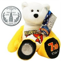 Limited Treasures Coin Bear Maryland 7th State New with Tags NWT - $11.13
