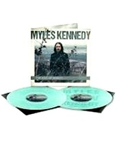 """MYLES KENNEDY THE IDES OF MARCH / ETCHED SIDE """"D""""/ TRANSPARENT GREEN VIN... - £39.23 GBP"""