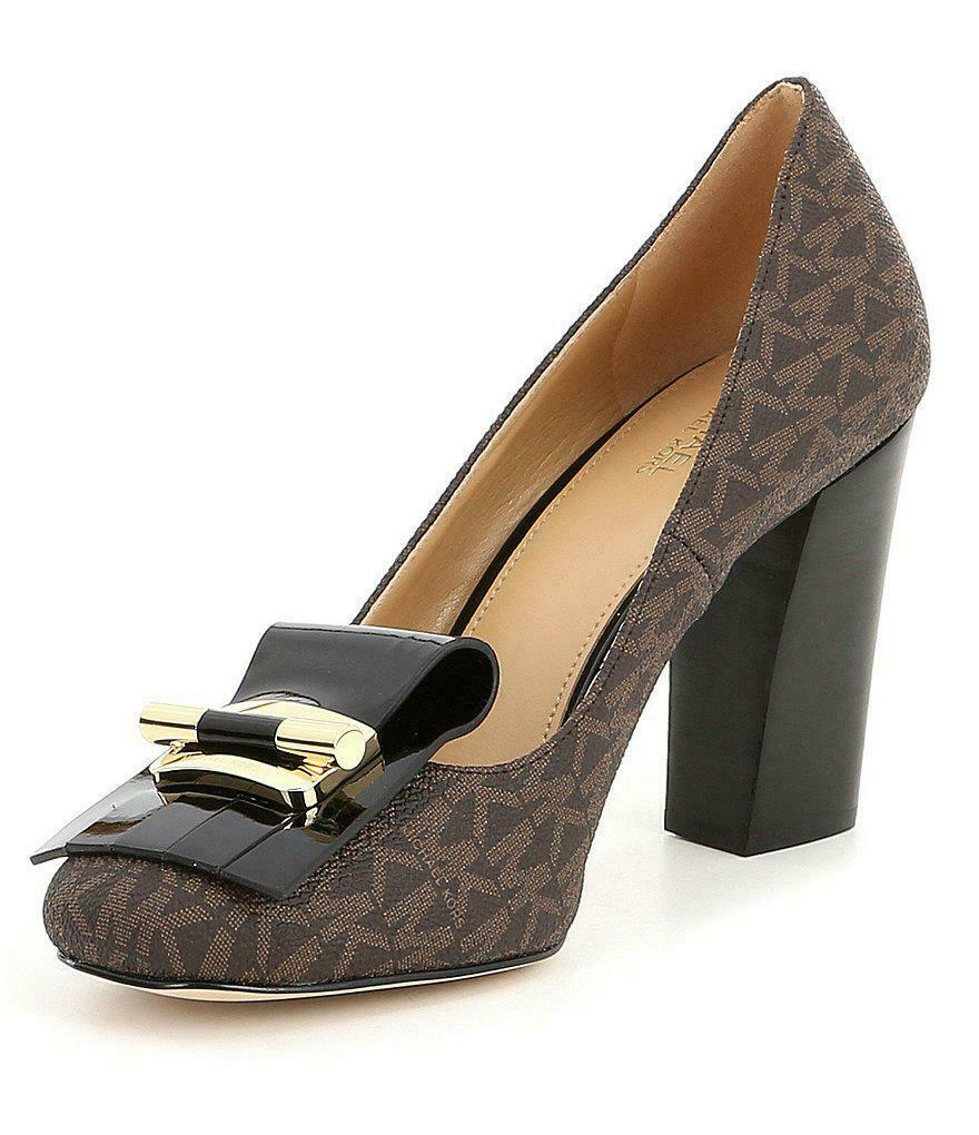 MICHAEL Michael Kors Gloria Kiltie Pump Shoes Size 6