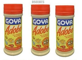 3 Pack Of Goya Adobo All Purpose Seasoning Con Pimienta With Pepper 8 oz - $14.84