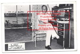 1960 Vintage Real Photo Postcard Ft Lauderdale FL Vincent Smith MD Oper ... - $139.99