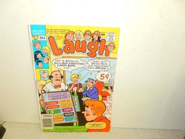 VINTAGE COMIC-ARCHIE COMICS- LAUGH - # 15 JULY 1989 - GOOD-L8 - $3.91