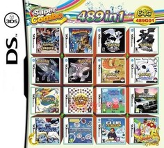 280 in 1 Compilations Video Game DS/3DS Cartridge Card Compatible Model Nintendo - $36.06