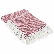 DII 100% Cotton Basket Weave Throw for Indoor/Outdoor Use Camping Bbq's ... - ₹1,485.91 INR
