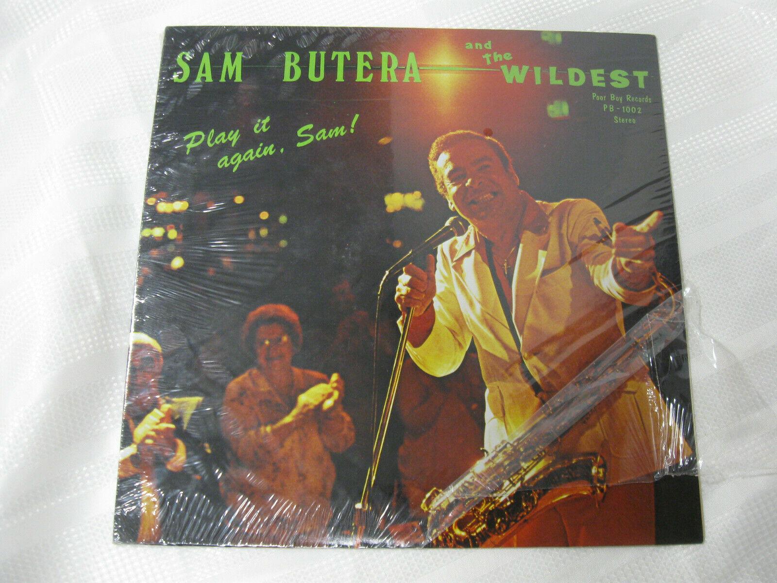 Sam Butera Play It Again Poor Boy PB1002 Vinyl Record Sealed LP SIGNED Toby