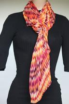 NEW Calvin Klein Oganges Women's Neck Scarf size 28x72 - $14.84