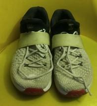 Nike Air Jordan Trainer 2 Flyknit Men's Shoes White Red Black 921210 101 Sz 11 - $20.80