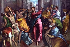Christ drives the dealers from the temple by El Greco - Art Print - $19.99+