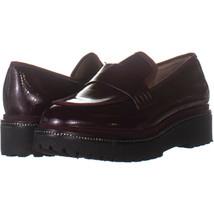 Franco Sarto Shelton Platform Loafers, Merlot 261, Merlot, 9 US - $25.91