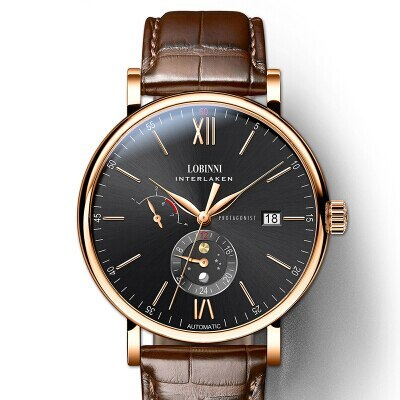 Primary image for Switzerland Luxury Brand LOBINNI Men Watches Automatic Mechanical Movement Men's