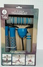 TULA ATHLETICA 4-Piece Training Kit - Jump Rope/Resistance Ring & Band/B... - $23.33