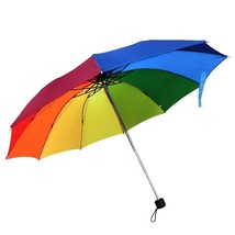 Travel Umbrella, 10 Rib Strong Enough Wind Resistant Frame, Collapsible,... - $34.36