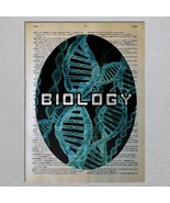 Choose a Science Biology Chemistry Physics Astronomy Dictionary Art Print - $11.00