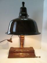 Vintage/Antique Wood Apollo Desk Lamp RARE, RARE - $149.00