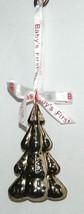 Roman Inc 36772 Babys First Christmas Color Silver Tree Jingle Bell Ornament image 2