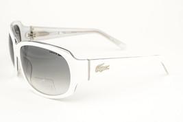 Lacoste White / Gray Gradient Sunglasses 12626 61 WH - $88.11