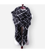 New Winter Scarf For Women Tartan Scarf Plaid Blanket Basic Shawls Autum... - $21.35+