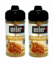 ( 2 Bottles ) Weber Beer Can Chicken Seasoning, 5.5 oz ea Bottle NEW SEALED PACK - $18.80