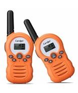 Caroger Kids Walkie Talkies 2 Pack Two-Way Radio Long Range Distance 22 ... - $16.56