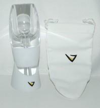 Vinturi VINW White Wine Aerator No Drip Stand Pouch Color White image 2