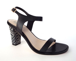 New COLE HAAN Size 8.5 CAMBON HIGH Black Ankle Strap Sandals Shoes 81/2 - $68.00