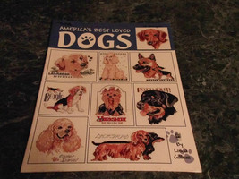 America's Best loved Dogs by Linda Gillum Leisure Arts - $3.99