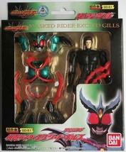 BANDAI Kamen Masked Rider Exceed Gills Chogokin Die-cast Figure GD-51 2003 New - $79.99