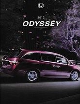 2013 Honda ODYSSEY sales brochure catalog US 13 EX EX-L Touring Elite - $6.00
