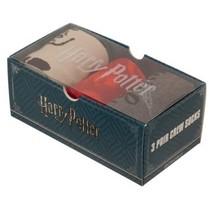 Harry Potter Hogwarts 3 Pack Mens Crew Cut Socks in Decorative Gift Box - $24.95