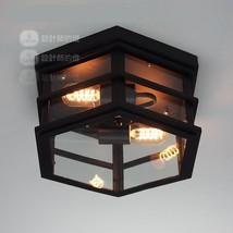 Victorian Cambridge Barton Flushmount E27 Light Ceiling Mount Lamp Restoration - $98.85+