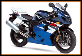 Fairings Fit For Suzuki GSXR600-750 2004 - 2005 Bodywork Kits Blue Black New - $403.91