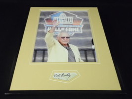 Bullet Bill Dudley Signed Framed 11x14 Photo Display JSA Virginia Steele... - $45.45