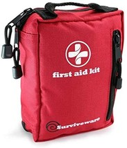 Surviveware Small First Aid Kit with Labelled Compartments for Hiking, Backpacki - $70.00