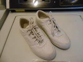 propet womens shoes W3840 white casual Ultra light shoes - $16.10