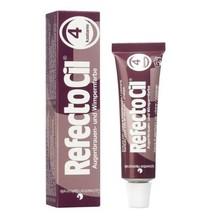 RefectoCil Eyelash & Eyebrow Cream Hair Dye, Chestnut  .5 oz