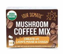Four Sigmatic Mushroom Coffee, USDA Organic Coffee Lion's Mane, Chaga Multi-pack - $13.08+