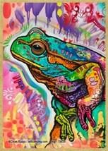 Frog Colorful Cute Wildlife Pop Art Wood Fridge Kitchen Magnet 2.5x3.5 N... - £4.70 GBP