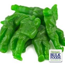 Albanese Confectionery 50160-CASE Green Army Guys - 20 lb Case by Albane... - $62.51