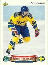 Peter Forsberg 1992-93 Upper Deck #235 - $0.99
