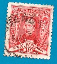 Australia Used Postage Stamp (1957) 5c St. Lawrence Seaway Scott #387  - $1.99