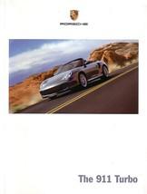 2004 Porsche 911 TURBO sales brochure catalog US 04 996 - $15.00
