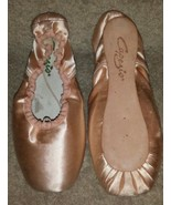 NIB Capezio Jete 316 European Pink Ballet Toe Pointe Shoes Size 6.5M 6.5 M - $58.72