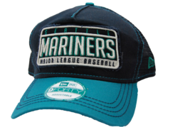 Seattle Mariners New Era 9Forty MLB Baseball Trucker Meshback Cap Hat - $18.99