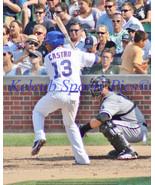 Marlins STARLIN CASTRO 2015 Original Game Pic 8x10 13x19 Chicago Cubs NY... - $4.99