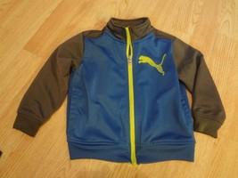 Toddler Puma 2T Jacket (Royal Blue w/Grey Sleeves) - $9.49