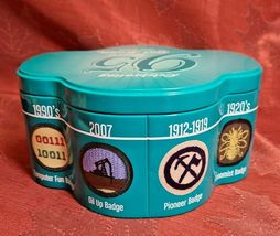 Celebrating 95 Years Of Girl Scouts (1912-2007) Collectible Cookie Tin Container image 3