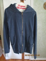 Old Navy Denim Blue Men Hoodie sweatshirt - size M - $8.50