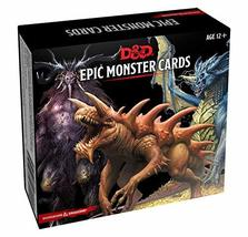 Dungeons & Dragons Spellbook Cards: Epic Monsters (D&D Accessory) [Novel... - $29.99
