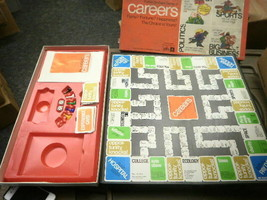 VTG PARKER BROTHERS 66 CAREERS INCOMPLETE BOARD GAME USED SOLD AS-IS - $5.83