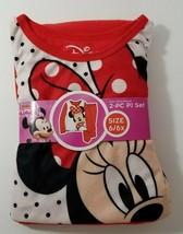 Disney Minnie Mouse Girl's Flannel Sleepware Set 6/6x - $11.88